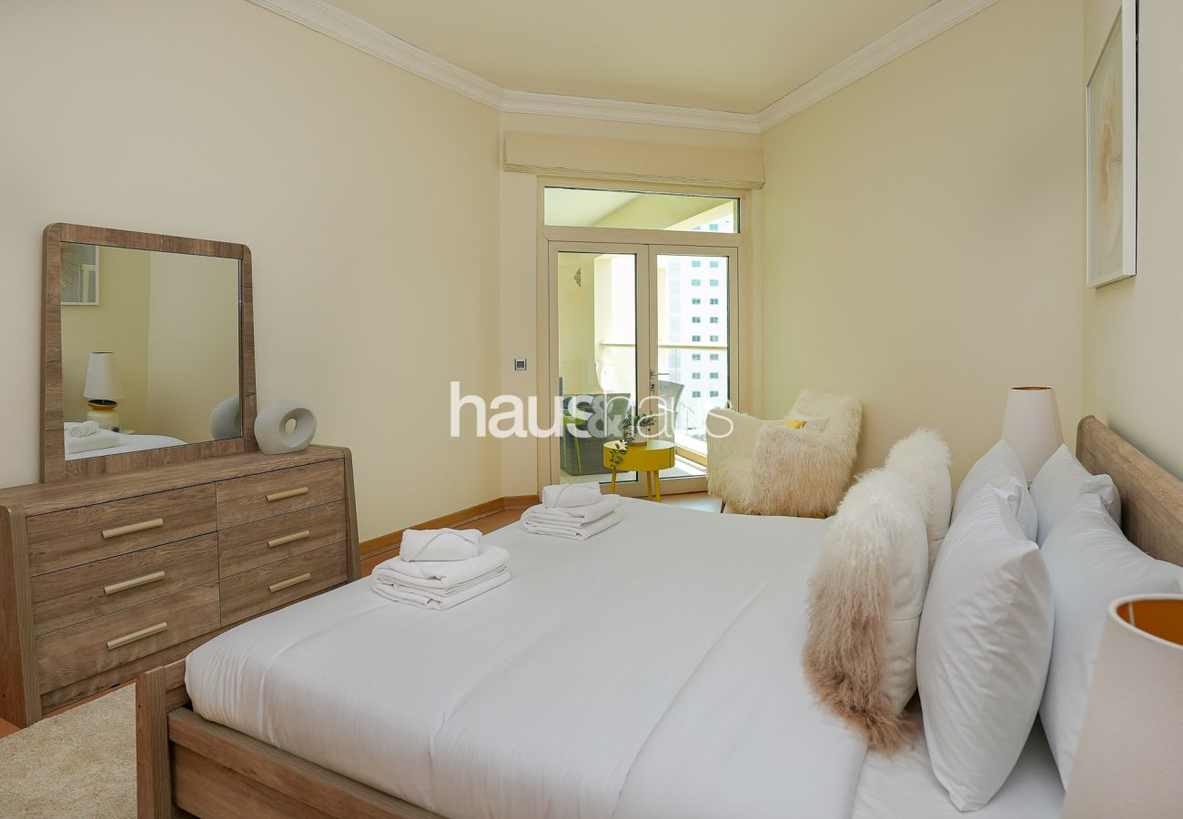 Apartment in Dubai - Tourist Destination   Beach view   Spacious 3 Bed