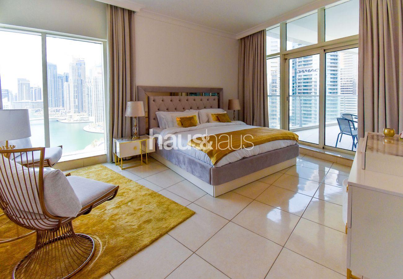 Apartment in Dubai - Sophisticated | Full Marina view | Tourist Destination